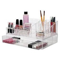 US Acrylic Cosmetic Organizer with Stackable Drawer : Target