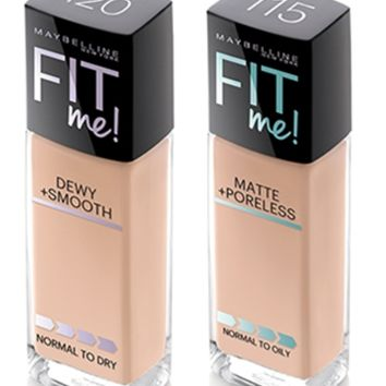 Maybelline® FIT ME!® Matte + Poreless Foundation