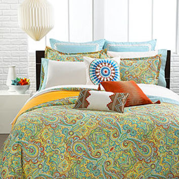 Echo Bedding, Beacon's Paisley Comforter and Duvet Cover Sets