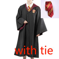Harry Potter Robe Costume WITH TIE for Kids and Adult (GRYFFINDOR)