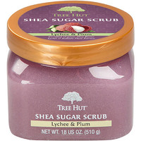 Tree Hut Lychee & Plum Shea Sugar Scrub | Ulta Beauty