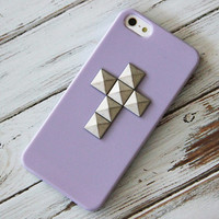 Studded iPhone Case Purple iPhone 5 Case Studs iPhone 4 Case iPhone 4s Case Samsung Galaxy S3 Case Samsung Galaxy S4 Case