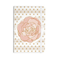 """Pellerina Design """"Watercolor Peony"""" Pink Floral Everything Notebook"""