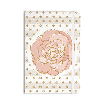 "Pellerina Design ""Watercolor Peony"" Pink Floral Everything Notebook"