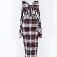 Dawn Plaid Dress