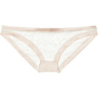 Mimi Holliday by Damaris | Bisou Bisou Frost lace briefs | NET-A-PORTER.COM
