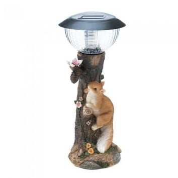 Squirrel Solar Path Light