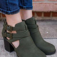 Secret Weapon Booties - Olive