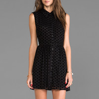 Lucca Couture Cut Out Sleeveless Shirt Dress in Black from REVOLVEclothing.com
