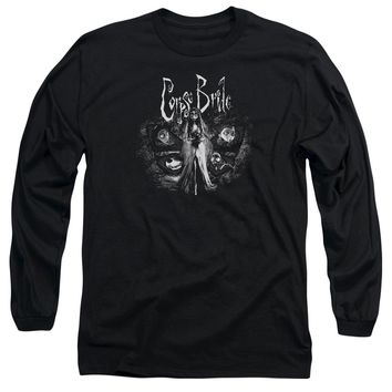 Corpse Bride - Bride To Be Long Sleeve Adult 18/1