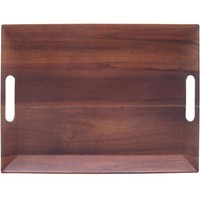 Better Homes and Gardens Large Rectangle Tray, Acacia - Walmart.com