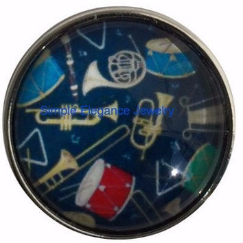 Band Instruments Snap 20mm for Snap Jewelry (308)