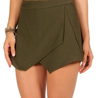 Sale-olive Envelope Skort