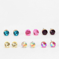 Rhinestone Earring - Set of 12