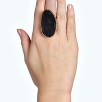 Demi Statement Crystal Stone Ring