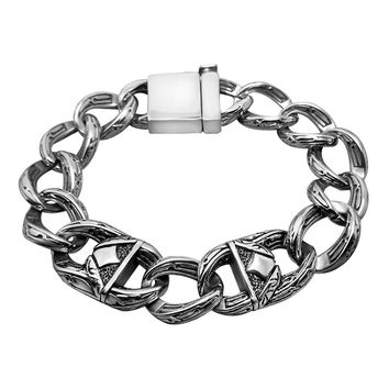 Hot Sale New Arrival Awesome Shiny Great Deal Gift Vintage Stylish Strong Character Titanium Accessory Bracelet [6542709123]