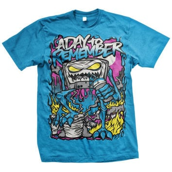 A Day To Remember: Attack Of The Killer B-Sides (Sapphire) T-Shirt