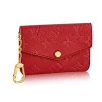 ONETOW Louis Vuitton Monogram Empreinte Leather Key Pouch Cherry Article: M60634