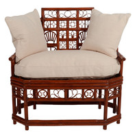 1STDIBS.COM - Gallery 315 Home Furnishings - Antique Bamboo Bench