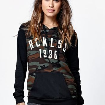 Young & Reckless Simple Blvd Camo Pullover Hoodie - Womens Hoodie - Camo