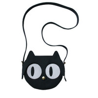 Black Cat leather Bag