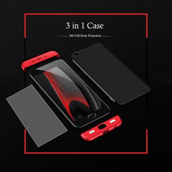 R9 s Case 3 in 1 Knight Armor Phone Cases For Oppo R9 R9s Plus Case Ultra thin