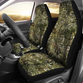 Bass Camo Designed Seat Covers