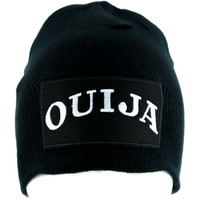 Ouija Spirit Board Beanie Alternative Clothing Knit Cap Witchcraft Wicca