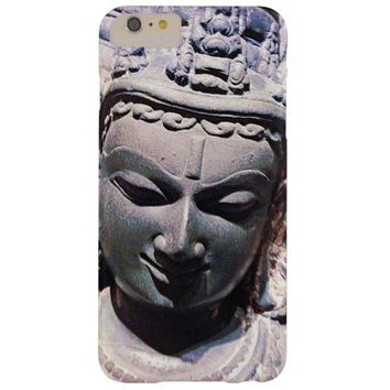 Calm, Asian Stone Face Statue Head Close-up Photo Barely There iPhone 6 Plus Case