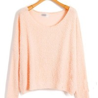Batwing Sleeves Fluffy Jumpers