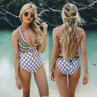 Women Swimwear One Piece Swimsuit Monokini Bikini Bathing Suit