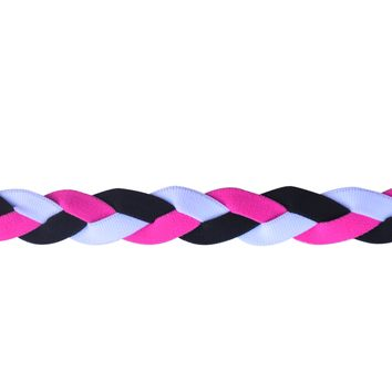 Soccer No Slip Grip Headband- Pink