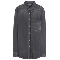 Foxy Boxy denim shirt