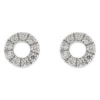 Carrière Open Circle Diamond Stud Earrings (Nordstrom Exclusive)   Nordstrom