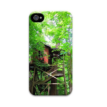 Treehouse iphone 5 case, Unqiue iphone 4 case, Adeventure iphone case, Wanderlust iphone 5 case, Nature iphone case, forest iphone case