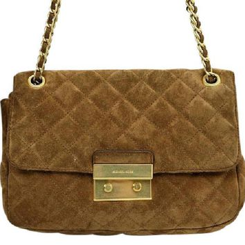 Michael Kors Sloan Suede Shoulder Bag