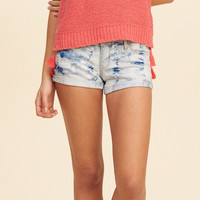 Hollister Low Rise Denim Short-Shorts