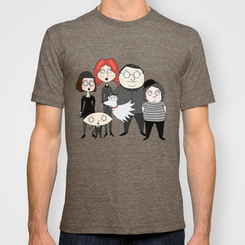 Tim Burton Family Guy T-shirt by Grace Isabel