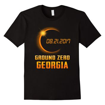 Beautiful Georgia Ground Zero Total Solar Eclipse 2017 Shirt