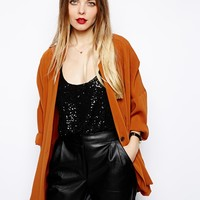 ASOS Soft Blazer with Notch Detail