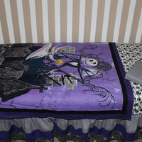 Jack Skellington Nightmare Before Christmas  5 Piece Crib Bedding Set