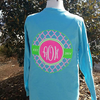 Long Sleeve Live Southern Preppy T-Shirt