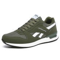 men & women retro running shoes light cool sneakers green breathable athletic shoes for outdoor sports jogging walking trekking