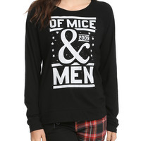 Of Mice & Men Logo Crewneck Girls Pullover