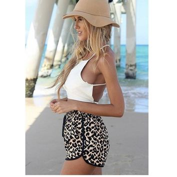 Leopard/Multicolor/Black/Pink Printed  Peggy Shorts