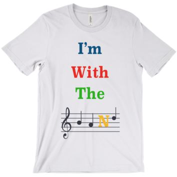 Music Themed T Shirts - I'm With The Band - Unisex
