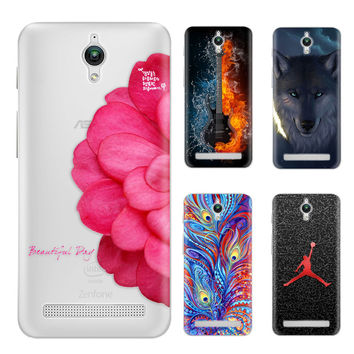 Phone case For Asus Zenfone Go ZC451TG 4.5-inch Cute Cartoon Painted TPU Soft Phone Case Silicone Skin Back Cover Shell