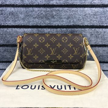 LV Women Shopping Leather Satchel Shoulder Bag Handbag Crossbody