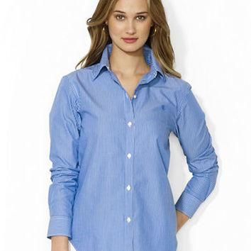 Lauren Ralph Lauren Slim-Fit Cotton Shirt
