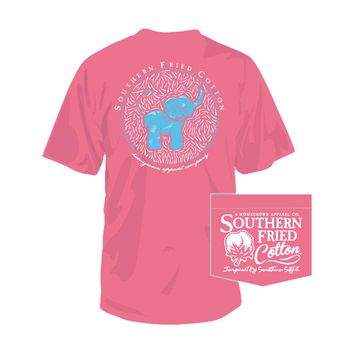 YOUTH Southern Fried Cotton Baby Elephant T-shirt | Palmetto Moon